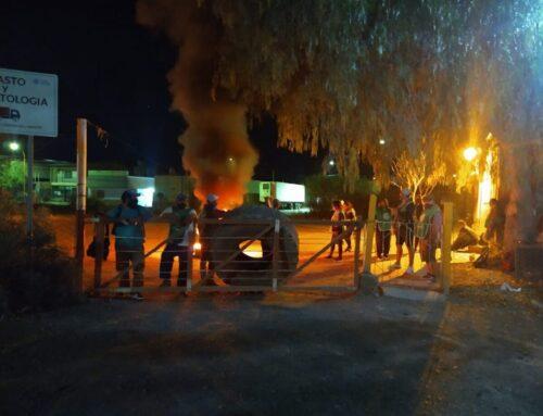 """COMISARIO URIBE: """"NO HAY ROTURA DE MANDO"""" EN LOS INCIDENTES DE CINCO SALTOS"""